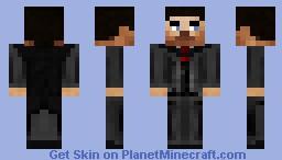 Realistic Minecraft Man