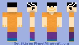 Edd (Ed, Edd, and Eddy) Minecraft Skin
