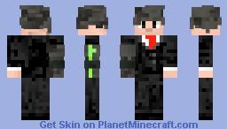 PlumbParzley (Buisness Man Outfit) Minecraft Skin