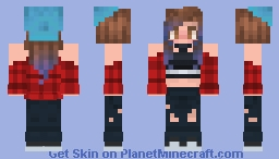 Hello, is it me you're looking for? Minecraft Skin