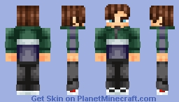 JUST ME MYSELF AND I BABYYY Minecraft Skin