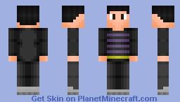 Me IRL v2 Minecraft Skin