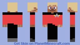 Star Trek Commander Minecraft Skin