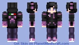 DarkTohka58 New Skin Minecraft Skin