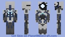 Mass Effect 3 Geth Pack Minecraft Skin