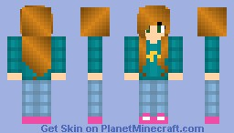 me IRL!!-also shading experiment Minecraft Skin