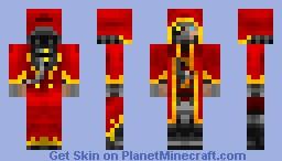 Mechanicum Tech Priest Minecraft Skin