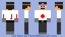 the bunkers doctor Minecraft Skin
