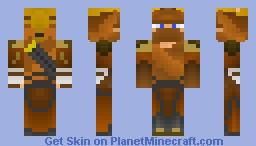 Legendary Medieval archer Minecraft Skin