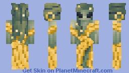 𝒂𝒍𝒊𝒆𝒏 𝒎𝒆𝒅𝒖𝒔𝒂 𝒃𝒂𝒅𝒅𝒊𝒆 🐍 Minecraft Skin
