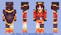 Megumin ^-^ Minecraft Skin