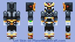 Mega Man X (Shadow Armor) Minecraft Skin