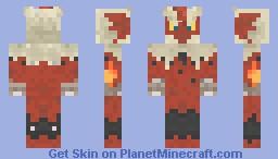 Mega Blaziken Minecraft