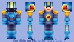 Megaman EXE Minecraft Skin