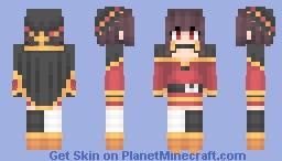 Megumin  「めぐみん」 Minecraft Skin