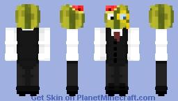 Melon Butler (DETAILED) Minecraft Skin
