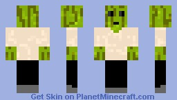 Melon-Head Minecraft Skin