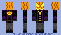 Pumpkinlord Minecraft Skin