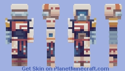 Of the Dunes and Cliffs Minecraft Skin