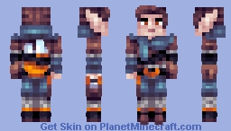 Mystical Messenger Minecraft Skin