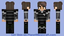 Metalbending Deputy Chief Minecraft Skin