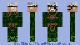 metalgearsolid4 SNAKE Minecraft Skin