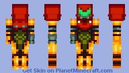Samus Aran - Varia Suit (Super Metroid) Minecraft Skin