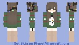 ~ 𝕍𝕚𝕧𝕚𝕕 𝕃𝕚𝕘𝕙𝕥𝕤 ~ (Christmas Special) Minecraft Skin