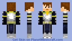 Monster Hunter Tri - Steel armor male Minecraft Skin