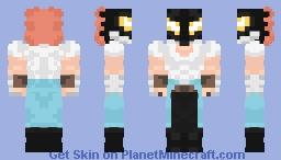 Kendo Rappa:My Hero Academia Minecraft Skin