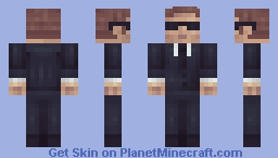 MIB Agent (Request) Minecraft Skin