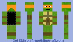 Michelangelo (tmnt) Minecraft