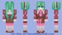 """If only I was human."" Minecraft Skin"