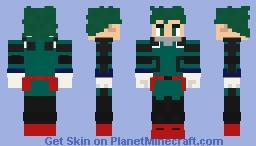 MHA - Izuku Midoriya (Beta suit) Minecraft Skin