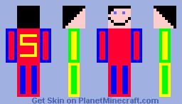 my super skin Minecraft Skin