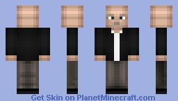 Mike Ehrmantraut Minecraft Skin