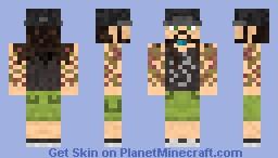 Mike Portnoy Minecraft Skin