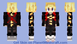 "Mikey (Manjiro Sano) from ""Tokyo Revengers"" Minecraft Skin"