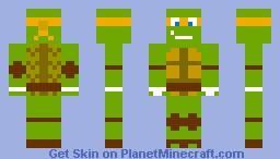 TMNT Mikey (request) Minecraft Skin