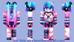 Miku - Magical Mirai 2020 Minecraft Skin