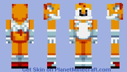 Miles Tails Prower - Sonic Mania Minecraft Skin