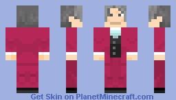 Miles Edgeworth Minecraft Skin
