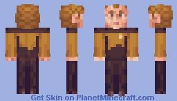 Chief Miles O'Brien Star Trek TNG Minecraft Skin