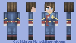 Military woman Minecraft Skin