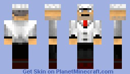 M.I.L.K Man (Looks better in preview) Minecraft Skin