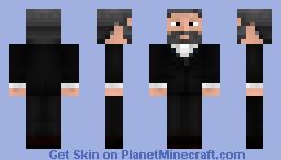 moast interesting man in minecraft Minecraft Skin