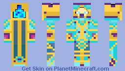 The Knight of Mindbreaking Minecraft Skin