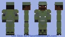 Sergeant Johnson Minecraft Skin