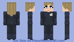 The Invisible Woman Minecraft Skin