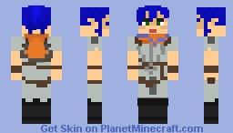 Adept from Spellbreak Minecraft Skin